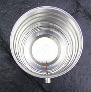 inside the milk  tin